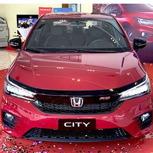 Giá xe Honda City 2021: Thế hệ thứ 5 nâng cấp ngoại hình và tính năng.