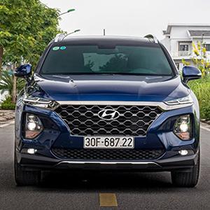 Giá xe Hyundai SantaFe 2020 Mới nhất - khuyến mãi hấp dẫn.
