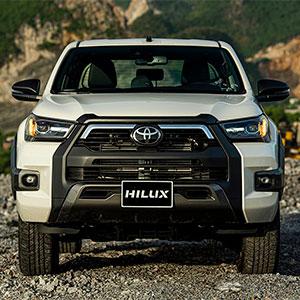 Bán tải Toyota Hilux 2021. Bản nâng cấp giá bán từ 628 triệu đồng.