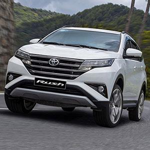 Giá xe Toyota Rush 2021 đã giảm còn kèm khuyến mại hấp dẫn.