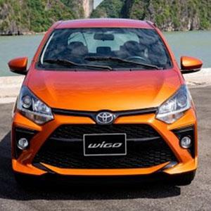 Xe Wigo 2021 mẫu xe hatchback giá rẻ nhưng sở hữu tính năng vượt trội.