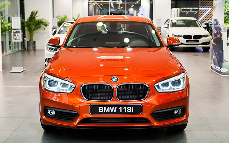 BMW 118i 2020 Mới - Chi tiết hình ảnh - Giá bán - Khuyến mại.
