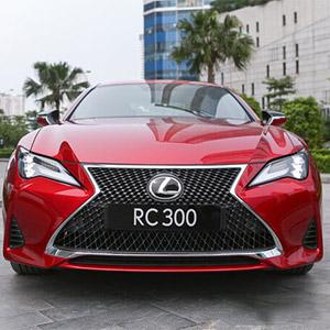 Lexus RC 300 2021 chi tiết hình ảnh, thông số, giá bán và khuyến mại.