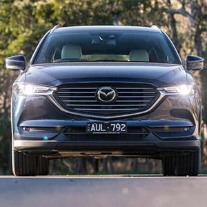 Giá xe Mazda CX8 2021: Ưu đãi lên đến 160 triệu đồng.
