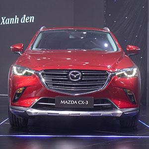 Mazda CX-3 2021 giá từ 629 triệu đồng, khuyến mại hấp dẫn.