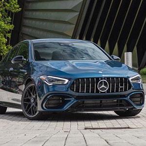 Xe sang Mercedes CLA 45 2021 báo giá và ưu đãi dặc biệt.