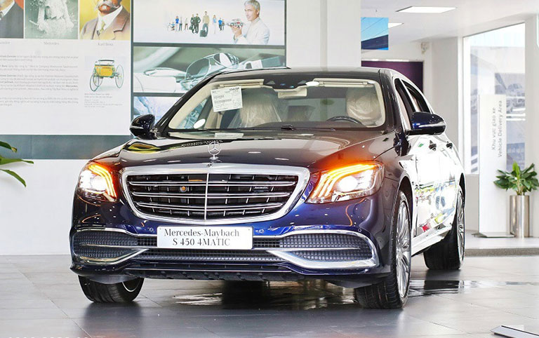 mercedes maybach s450 2021