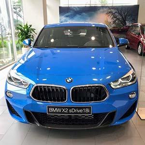BMW X2 sDrive18i 2020 mới - Xe có sẵn, đủ màu, giao ngay