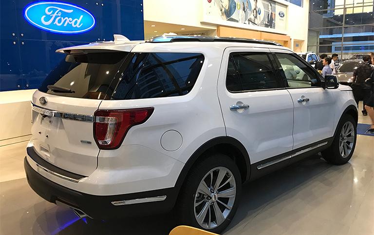 explorer limited 2019